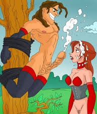 Tarzan And Jane's Fetish Sex