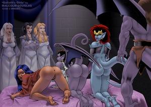 Demona and Elisa Go Lesbian!