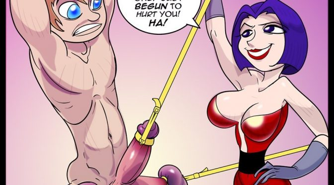 Cartoon Femdom Mistress